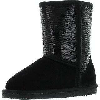 Lamo Girls Sequin Fashion Boots