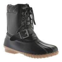 Portland Boot Company Women's Duck Duck Deluxe Boot Black
