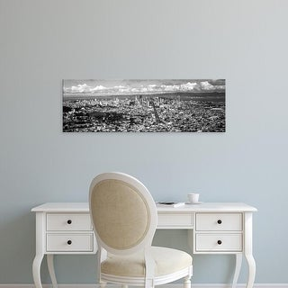 Easy Art Prints Panoramic Images's 'Cityscape viewed from the Twin Peaks, San Francisco, California, USA' Canvas Art