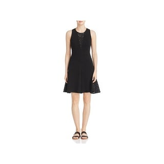 Three Dots Womens Casual Dress Lace Inset Sleeveles (5 options available)