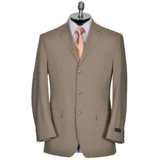 Sean John Blazer 36 Short 36S Taupe Solid 3-Button Sportcoat|https://ak1.ostkcdn.com/images/products/is/images/direct/4ef40db43ce7fb762f274bce47846c8fc9acbc98/Sean-John-Blazer-36-Short-36S-Taupe-Solid-3-Button-Sportcoat.jpg?impolicy=medium