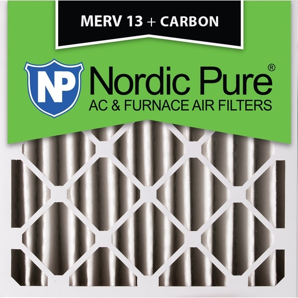 By621 200 20 Carbon Frontaufsatzelemente: Shop Nordic Pure 20x20x4 MERV 13 Plus Carbon AC Furnace