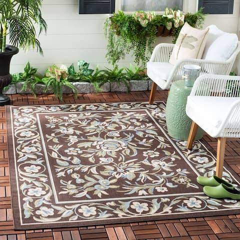 SAFAVIEH Veranda Kinuyo Indoor/ Outdoor Patio Backyard Rug