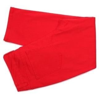 Charter Club Bristol Zip Fly with Button Capri Women Regular Cropped Pants