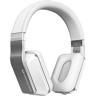 Monster Inspiration Active Noise Cancelling Over-Ear Headphones (White)