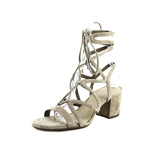 424 Fifth Womens Honey Dress Sandals Suede Caged
