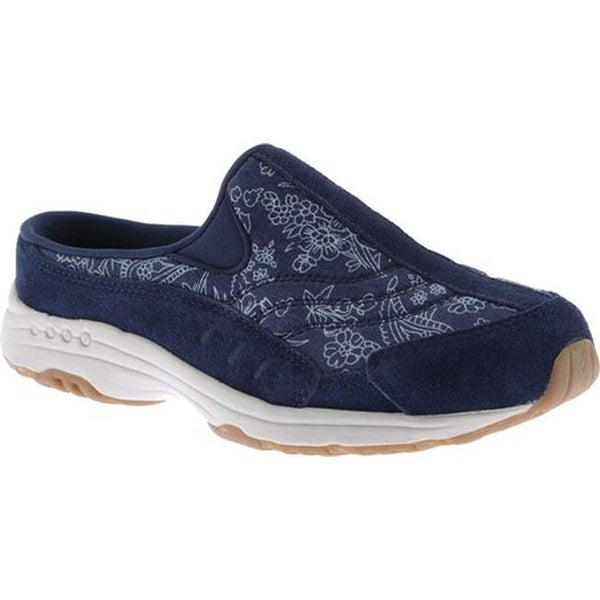 Shop Easy Spirit Women s Traveltime Slip-on Navy Blue Suede - Free ... 1d6972900c30