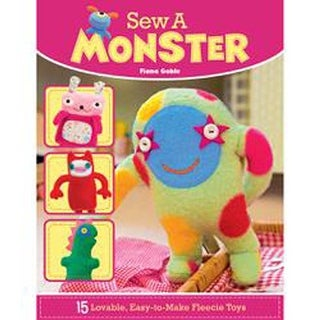 Sew A Monster - Lifestyle Books