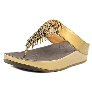 FitFlop Cha Cha Open Toe Synthetic Thong Sandal