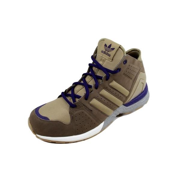 cheap for discount 28663 b2b61 Shop Adidas Men's Torsion NPN Mid Base Khaki/Clear Sand-GumG51062 ...