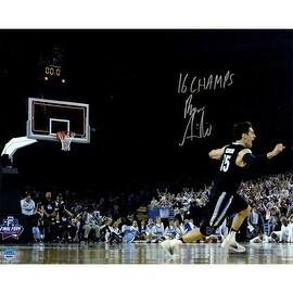 "Ryan Arcidiacono Signed Final Shot Celebration NCAA Championship 16x20 Photo w/ ""2016 NCAA Champs"" Insc"