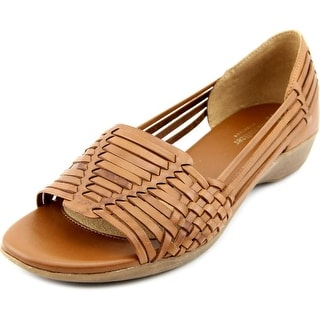 Naturalizer Nerissa Women N/S Open Toe Leather Wedge Sandal