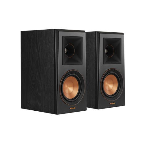 Klipsch RP-500M Ebony Bookshelf Speaker - Pair
