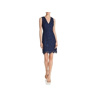 Laundry by Shelli Segal Womens Cocktail Dress Lace Sleeveless