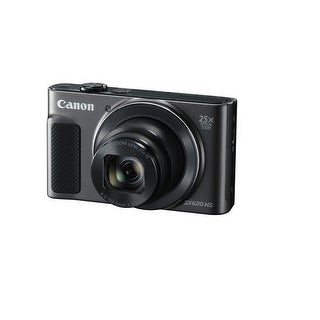 Canon 1072C001 Powershot Sx620 Hs 20.2Mp 1080P Fhd Digital Camera - Black
