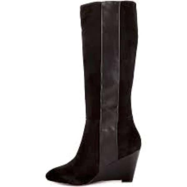 Paris Hilton Womens Kaori Closed Toe Knee High Fashion Boots - 9
