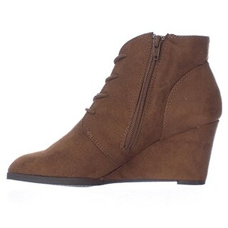 American Rag Womens BAYLIE Closed Toe Ankle Platform Boots (2 options available)