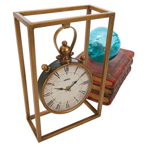 Industrial Age Mantel Clock DESIGN TOSCANO steampunk industry industrial time