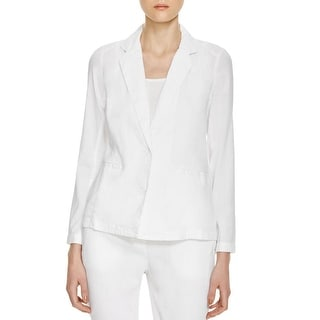 Eileen Fisher Womens Shirt Jacket Linen Long Sleeves