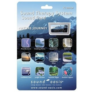 Sound Oasis SC-300-04 Nature Journey Sound Card, Silver
