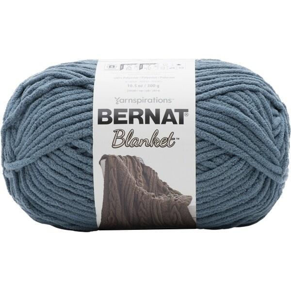 Bernat Blanket Big Ball Yarn-Stormy Green