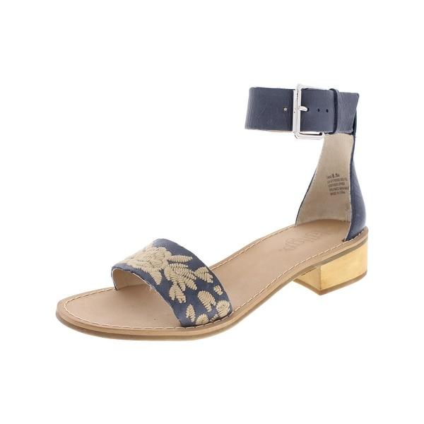 Latigo Womens Tana Dress Sandals Leather Block Heel
