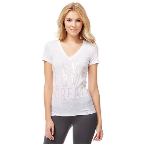 Aeropostale Womens Live Love Dream Graphic T-Shirt