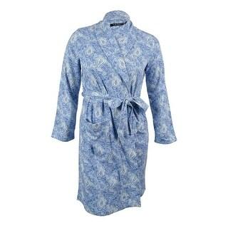 Lauren Ralph Lauren Women's Paisley Shawl Lounge Robe