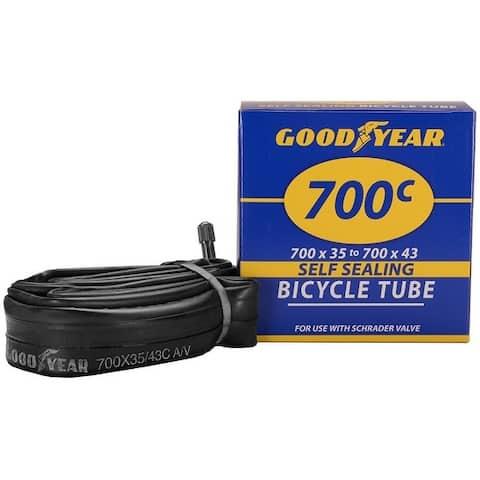 Goodyear 95203 Self-Sealing Bicycle Tube, 700c X 35 and 43
