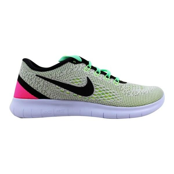 Shop Nike Women's Free RN WhiteBlack Volt Pink Blast 831509