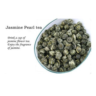 Jasmine Pearls Tea Jasmine Dragon Ball Scented Tea