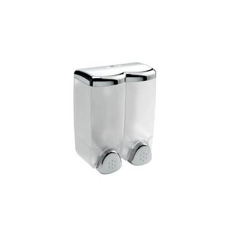 WS Bath Collections Hotellerie AV112A Hotellerie Wall Mounted Double Soap Dispenser