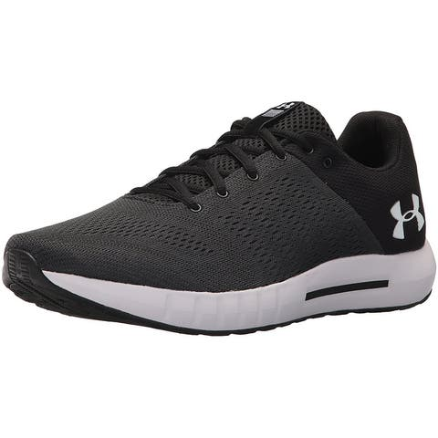 2f9644c5e654 Under Armour Mens Micro G Pursuit Fabric Low Top Lace Up Running Sneaker