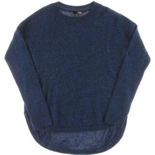 Aqua Womens Cashmere Marled Pullover Sweater