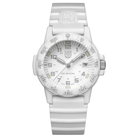 Luminox Unisex XS.0307.WO Sea Turtle White-Out Rubber Strap Watch