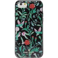 Kate Spade New York Jeweled Jardin iPhone 7 & iPhone 8 Case, Black Multi, iPhone 7