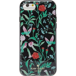 Kate Spade New York Jeweled Jardin iPhone 7 & iPhone 8 Case, Black Multi, iPhone 7