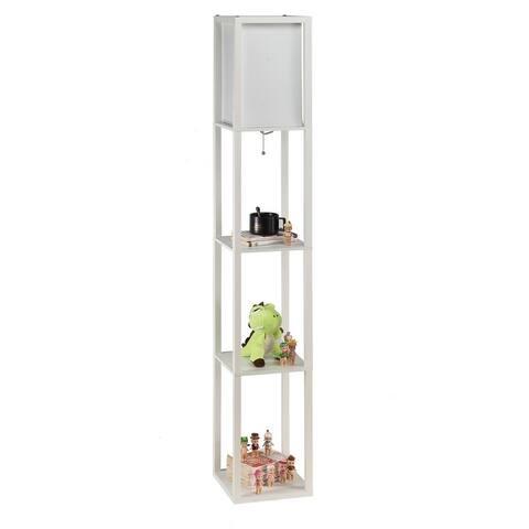 CO-Z 63-inch LED 3-shelf Etagere Floor Lamp