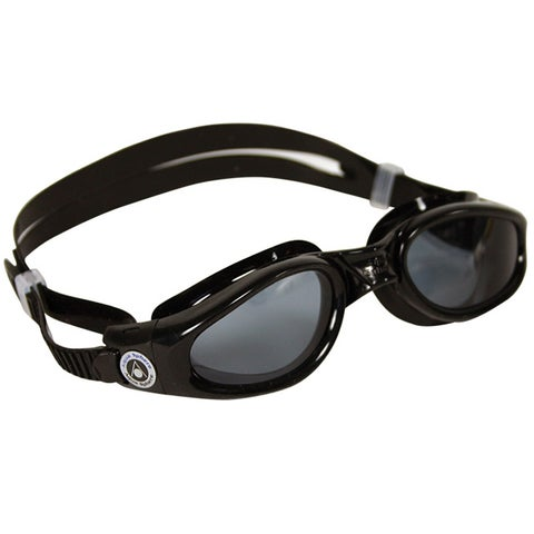Aqua Sphere Kaiman Small Fit Smoke Lens Swim Goggles - Black