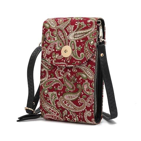 MKF Collection Noni Phone Crossbody Bag by Mia K.