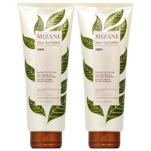 Mizani True Textures Perfect Coil Oil Gel 11 oz (Pack of 2)