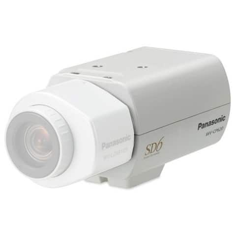 Panasonic WV-CP620 Day/Night Fixed Color Camera - White
