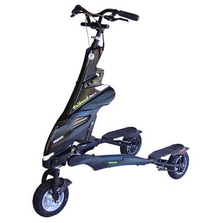 Trikke Pon-e Electric Scooter 48V Deluxe Black With Battery