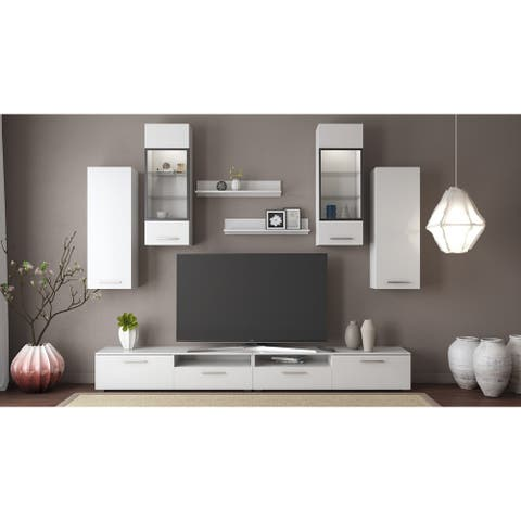 """Sophie Max Entertainment Unit for TVs up to 88"""""""