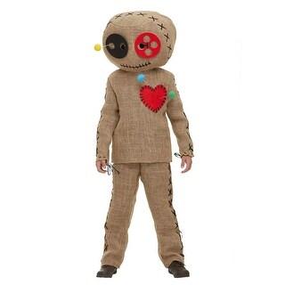 Child Burlap Voodoo Doll Costume