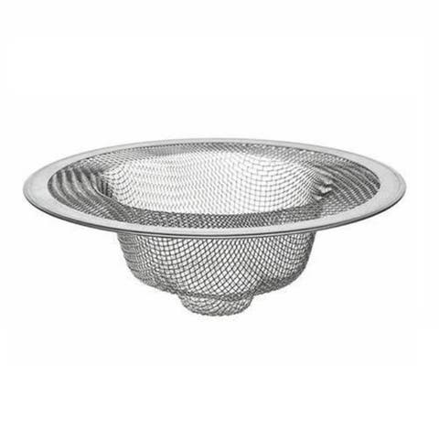 "4.25"" Stainless Steel Mesh Kitchen Sink Strainer - Drain Food Stopper Basket"
