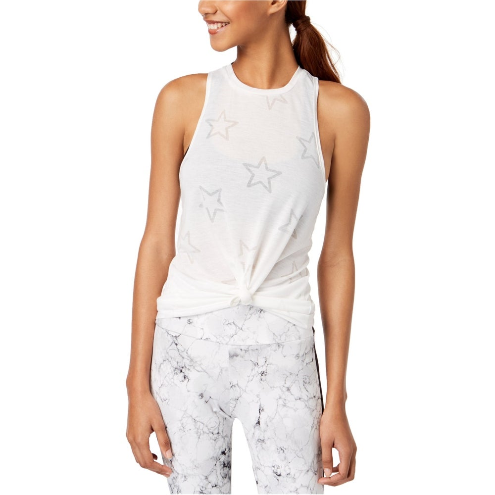 Material Girl Womens Solid Bandeau Blouse