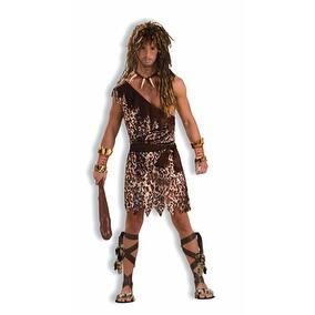 Cave Stud Caveman Adult Mens Halloween Costume - Standard - One Size