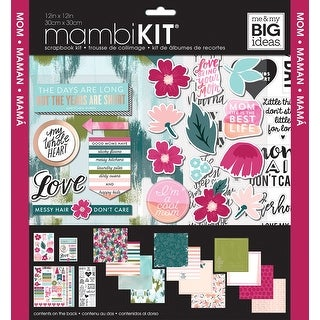 "Me & My Big Ideas Page Kit 12""X12""-Mom"