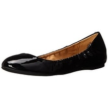 Nine West Womens Mistyray Closed Toe Slide Flats